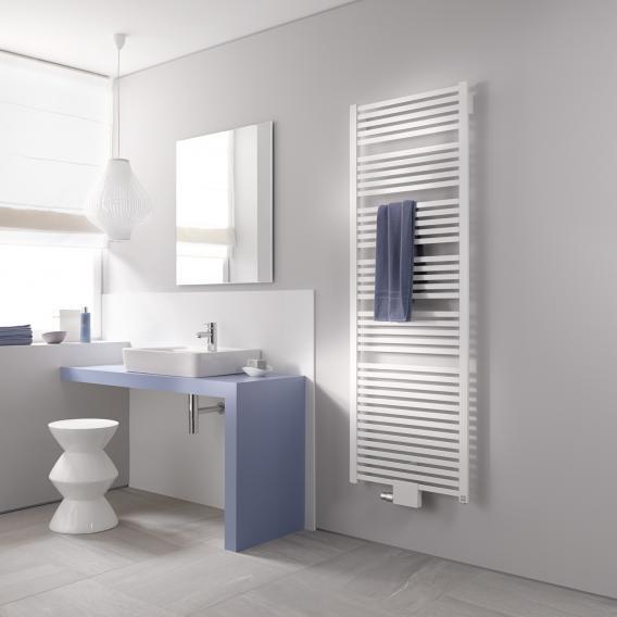 Kermi Geneo quadris radiator white