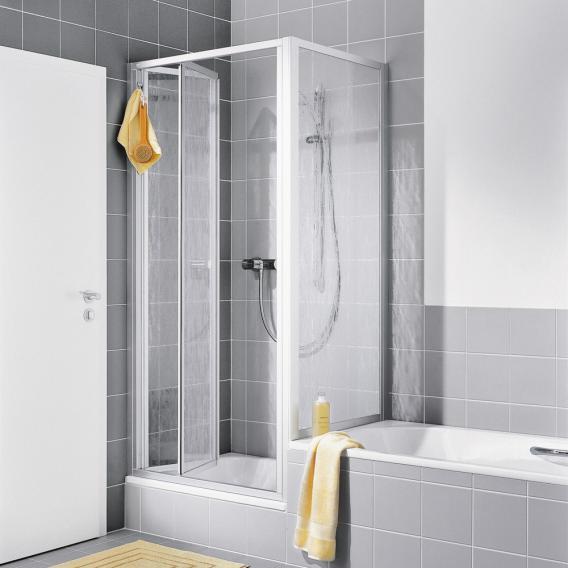 Kermi Nova 2000 short side panel on bath