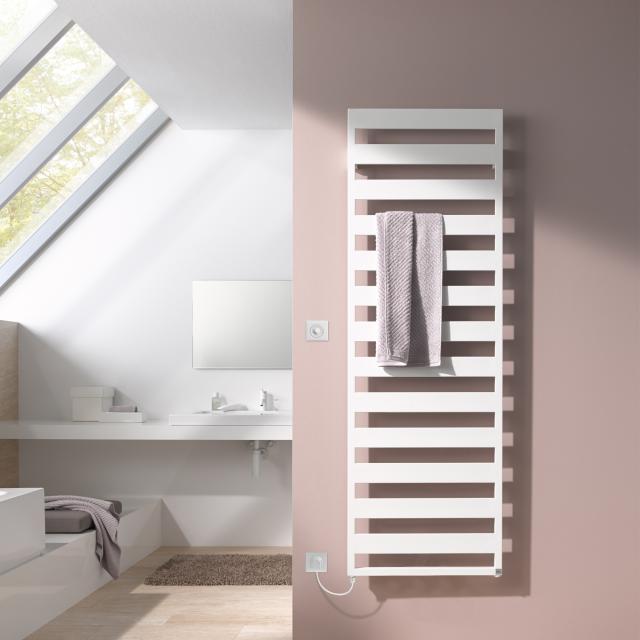 Kermi Casteo-E radiator electric operation only white, electric set WFS L