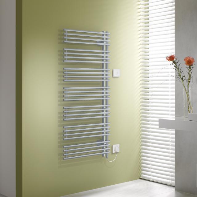 Kermi Diveo-E radiator, electric operation only metallica, electric set WKS R