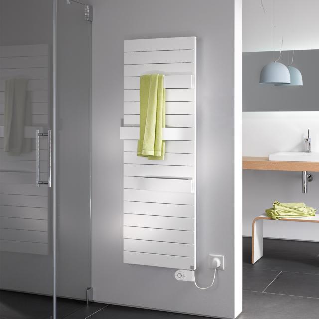 Kermi Tabeo-E radiator, electric operation only white, electric set FKS R