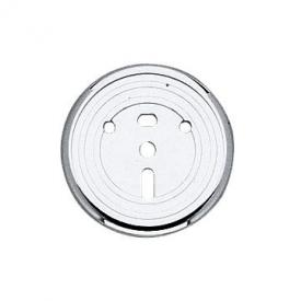 Keuco Astor wall decor disc 02191 chrome