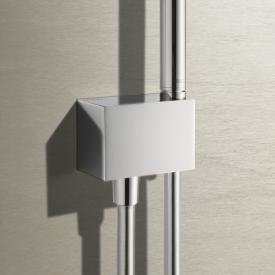 Keuco Edition 11 hose connection with wall-mounted shower bracket chrome