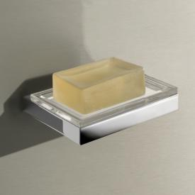 Keuco Edition 11 wall-mounted soap dish chrome