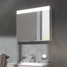 Keuco Edition 400 mounted mirror cabinet with LED lighting neutral white, without mirror heating