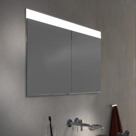 Keuco EDITION 400 concealed mirror cabinet neutral white, without mirror heating