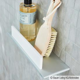 Keuco Edition 400 shower shelf with squeegee