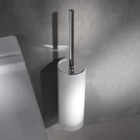 Keuco Edition 400 toilet brush set chrome
