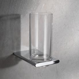 Keuco Edition 400 tumbler bracket with tumbler chrome