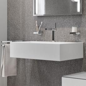 Keuco Edition 90 ceramic washbasin white, with 1 tap hole