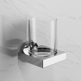 Keuco Edition 90 glass holder with real crystal glass