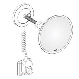 Keuco Elegance beauty mirror with spiral cable