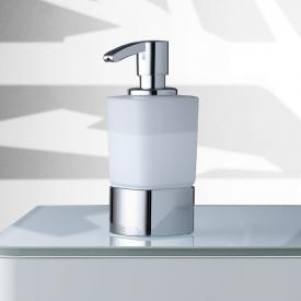 Keuco Elegance freestanding foam soap dispenser