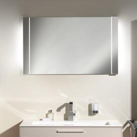 Keuco Elegance illuminated mirror Outer light tube white/inner light tube white