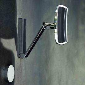 Keuco iLook_move beauty mirror with concealed cable routing, adjustable light colour