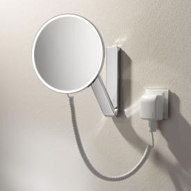 Keuco iLook_move beauty mirror with plug-in transformer