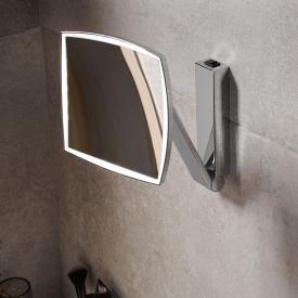 Keuco iLook_move Miroir grossissant, 1 degré de luminosité chromé