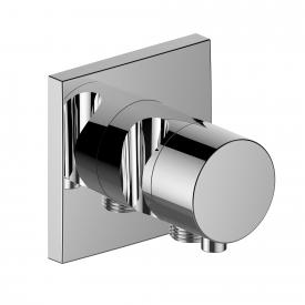 Keuco IXMO 2-way diverter and shut-off valve with hose connection and shower bracket chrome