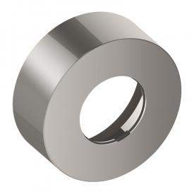 Keuco IXMO extension escutcheon for diverter and shut-off valve, 35 mm, round stainless steel