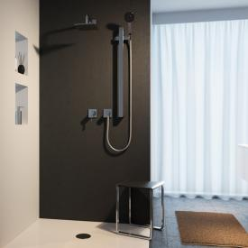 Keuco IXMO shower system, with IXMO single lever mixer & EDITION 11 shower set, square