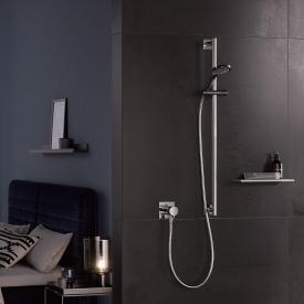Keuco IXMO SOLO shower rail, square chrome