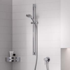 Keuco IXMO SOLO shower set, with single lever mixer, square