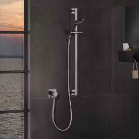 Keuco IXMO SOLO shower set, with thermostat and shower set, square