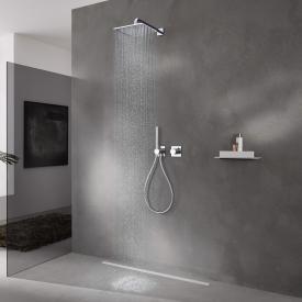 Keuco IXMO Système de douche, avec thermostat IXMO Pure, carré