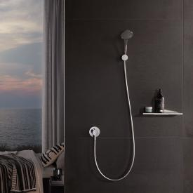 Keuco IXMO wall-mounted shower bracket chrome