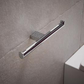Keuco PLAN double toilet roll holder chrome