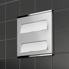 Keuco Plan Integral washbasin module aluminium/chrome