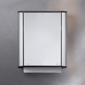 Keuco Plan paper towel dispenser silver anodised