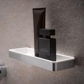 Keuco PLAN shower basket chrome/white