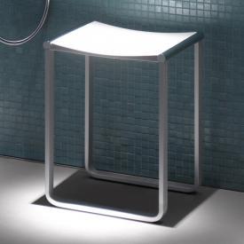 Keuco Plan stool chrome/white