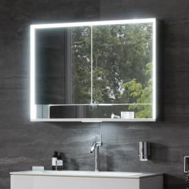 Keuco Royal Lumos mounted mirror cabinet with DALI LED lighting with 2 doors