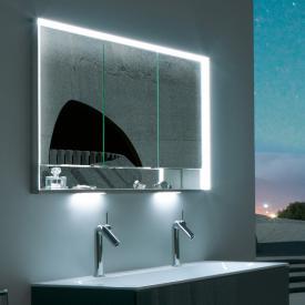Keuco Royal Lumos recessed mirror cabinet with LED lighting