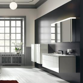 Keuco Royal Reflex medium unit with 1 door front glass white / corpus white gloss