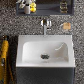 Keuco X-Line ceramic washbasin without tap hole, without overflow