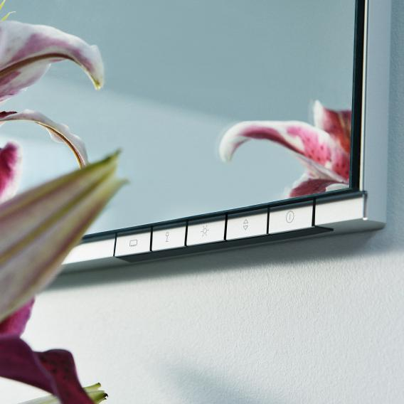 Keuco EDITION 400 LED illuminated mirror, adjustable light colour