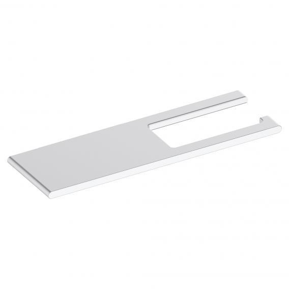 Keuco Edition 400 toilet roll holder with shelf