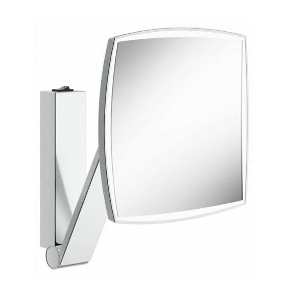 Keuco iLook_move beauty mirror W: 200 H: 200 mm, 1 light colour chrome