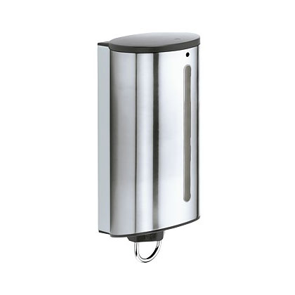 Keuco Plan lotion dispenser silver anodised