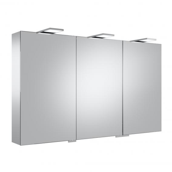 Keuco Royal 25 mirror cabinet with LED lighting with 3 doors