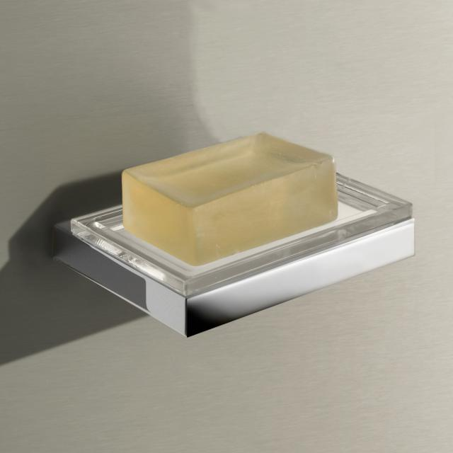 Keuco Edition 11 wall-mounted soap dish chrome