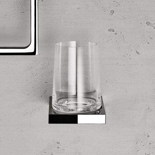 Keuco Edition 11 wall-mounted bracket with tumbler chrome