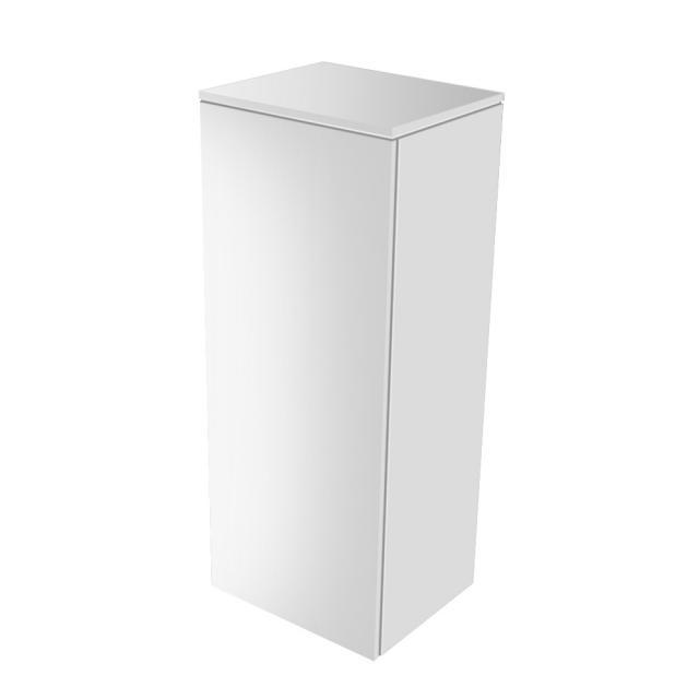 Keuco Edition 400 medium unit with 1 door front white high gloss / corpus white high gloss