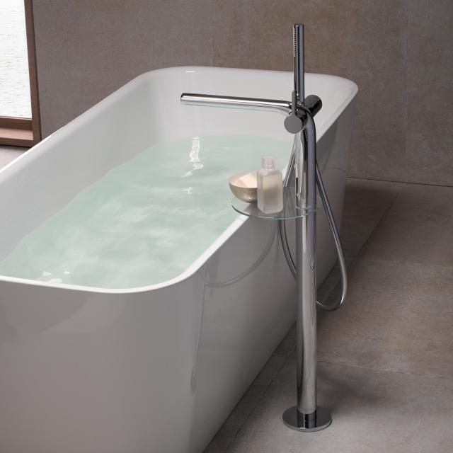 Keuco Edition 400 single lever bath mixer chrome