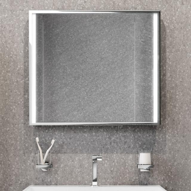 Keuco Edition 90 mirror with LED lighting without mirror heating