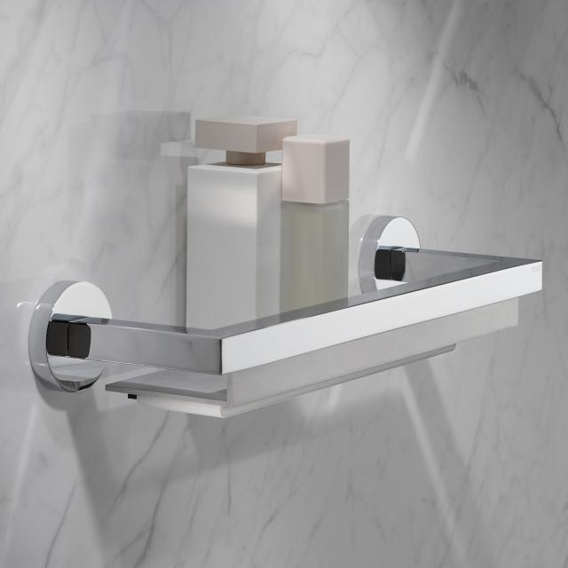 Keuco Edition 90 shelf for the shower with squeegee