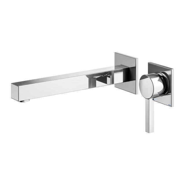 Keuco Edition 90 Square single lever basin mixer projection: 246 mm